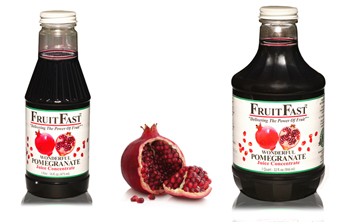 The Pure, Single Ingredient Pomegranate Juice Concentrate from FruitFast.