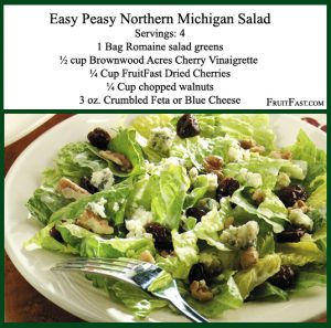 dried cherries, naturally sweetened cherries, natural cherry, dried cherry salad