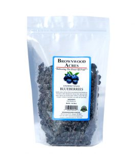 unsweetened dried blueberries, no sugar dried blueberries